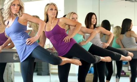 5 or 10 Fitness Classes at thebodybar(re) (Up to 62% Off)