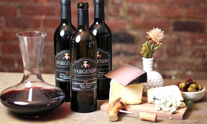 D'Argenzio Winery - Downtown Santa Rosa: Piccolo Antipasti Board and Wine Flight for Two, Four, or Six at D'Argenzio Winery (Up to 55% Off)