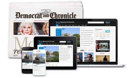 26- or 52-Week Full Access Subscription with Saturday and Sunday Delivery of the Democrat & Chronicle (Up to 85% Off)