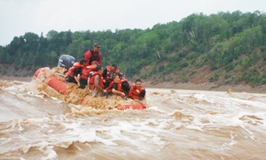 Fundy Tidal Bore Adventures: CC$79.95 for a Two-Hour River Rafting Trip for Two at Fundy Tidal Bore Adventures (CC$138 Value). Ten Options.