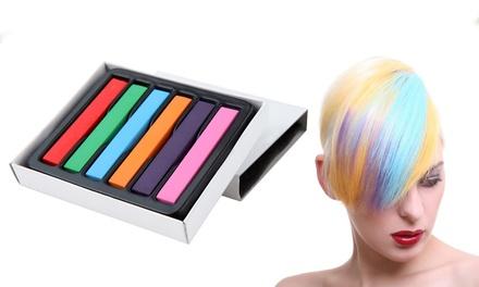 SixPiece Hair Chalk Set for £3.98