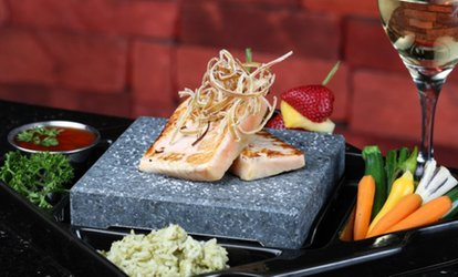 image for Steakhouse Food and Fondue for Dinner at Rok Bistro (Half Off)