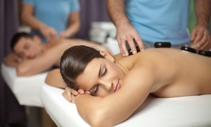 Anew Wellness Spa: Hot-Stone Massage with a Sweet Treat and Organic Herbal Tea for One or Two at Anew Wellness Spa (Up to 55% Off)