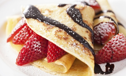 Crepes, Paninis, and Drinks at Golden Crepes (40% Off)