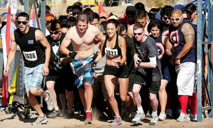Ultimate Mud Warrior vs. Gladiator Dash Ultra Extreme Mud Obstacle Challenge - Central Oklahoma City: $45 for Entry to the Ultimate Gladiator Dash on September 28 or 29 ($90 Value)
