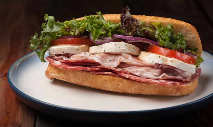 DJ's Grill  and Deli - Multiple Locations: $10 for $15 Worth of Sandwiches and Burgers for Two or More at DJ's Grill and Deli