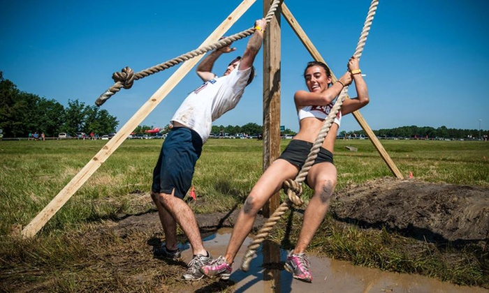The Survival Race - Springfield: $30 for Entry to The Survival Race 5K Mud Run on Sunday, August 17 (Up to $79 Value)