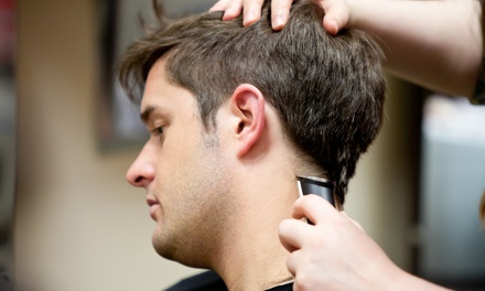 One or Two Men's Haircuts, or Men's Touch of Gray Coloring with  Bobby Ritchie at Salon De Marcus (Up to 61% Off)