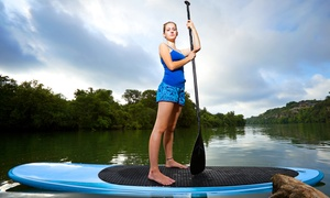 All Wet Sports: One-Hour Standup Paddleboard Lesson and Tour or All-Day Kayak Rental from All Wet Sports (Up to 55% Off)