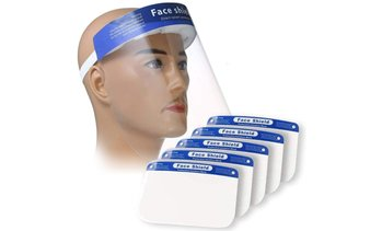Non-Medical Face Shield (Multi-Pack Options Available)