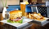 Indulge Burgers - Central Scottsdale: Gourmet Burgers and Sandwiches at Indulge Burgers & More (Up to 57% Off). Two Options Available.