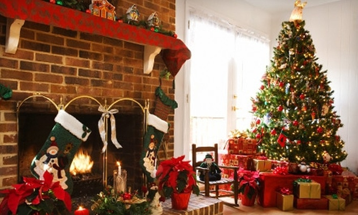 Christmas Tree Village - La Palma: $34 for a 6- to 7-Foot Nordman-Fir Christmas Tree at Christmas Tree Village (Up to $69 Value)