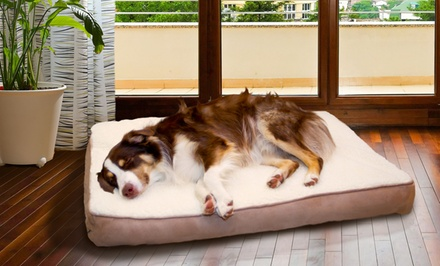 Memory Foam Dog Mattresses with Faux-Sheepskin Top. Multiple Colors and Sizes from $24.99–$44.99. Free Returns.