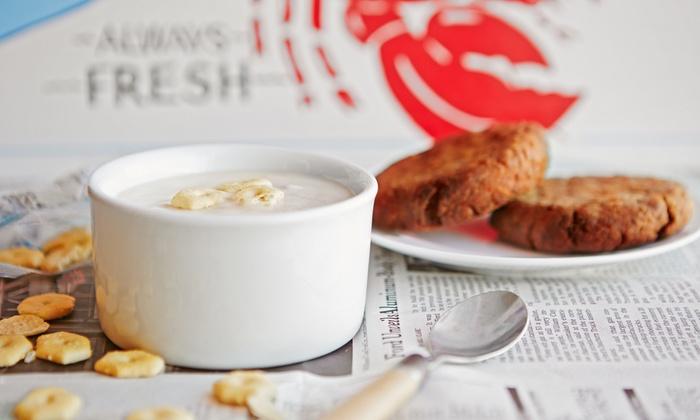 Seafood In The Buff - Wheaton - Glenmont: Dinner for Two or Four at Seafood In The Buff (30% Off)