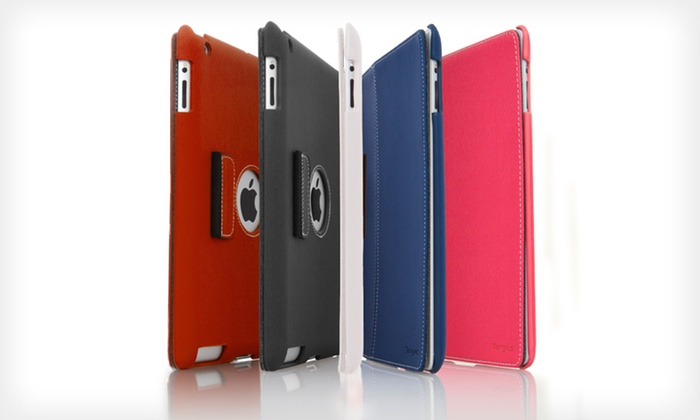 Targus Slim Cases for iPad 3 and 4: $6.99 for a Targus Slim Case for iPad 3 and 4 in Blue, Gray, Pink, Red, or White ($49.99 List Price)