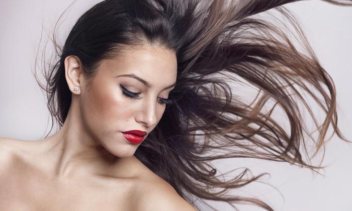 Sara Densmore at Studio Red Hair Salon - Brandon: Brazilian Straightening Treatment from Saranicole (50% Off)