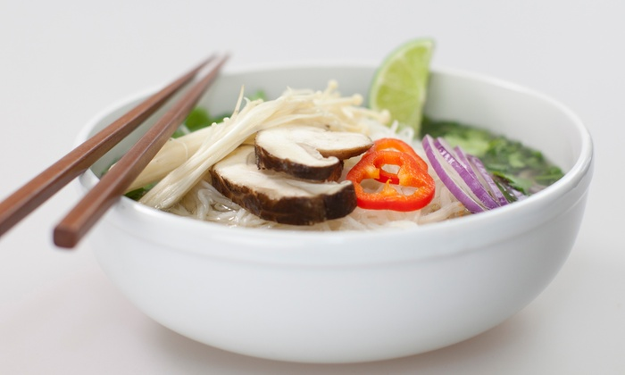 Calibasil Vietnamese Eatery - University: $16 for Two Groupons, Each Good for $15 Worth of Food at Calibasil Vietnamese Eatery ($30 Value)