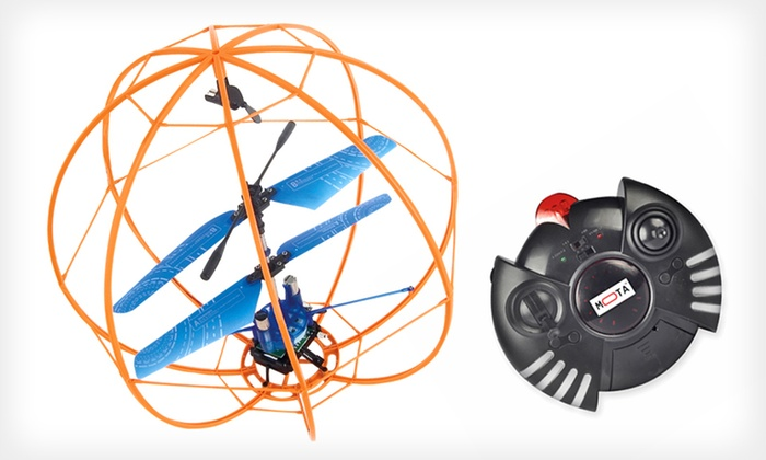 Mota RC Indestructible Flying Ball: $35 for a Mota Remote-Controlled Indestructible Flying Ball ($129 List Price). Free Shipping.