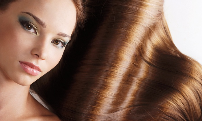 The Hair Studio 41 - Harbor Cove: $99 for a KeraStraight Keratin Treatment at The Hair Studio 41 ($200 Value)