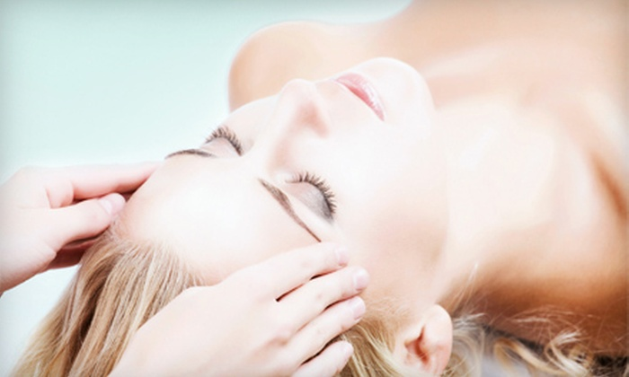 DiBiasi's A Salon and Transitions Spa - Emerson Garfield: One or Three Custom Facials with Eyebrow or Lip Waxes at DiBiasi's A Salon and Transitions Spa (Up to 69% Off)