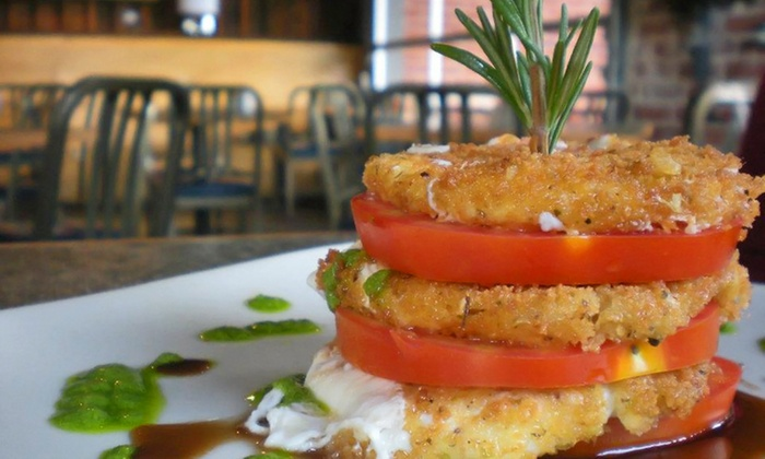 Radial Café - Radial Cafe: Farm-to-Table Dinner for Two or Four at Radial Café (Up to 38% Off)