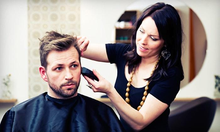 NewU Body Bar - Byward Market - Parliament Hill: Men's Haircut with Optional Organic Facial at NewU Body Bar (Up to 52% Off)