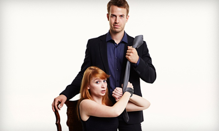 """Spank! The Fifty Shades Parody"" - Midwest City: $26 to See ""Spank! The Fifty Shades Parody"" at Rose State Performing Arts Center on April 23 (Up to $44.50 Value)"
