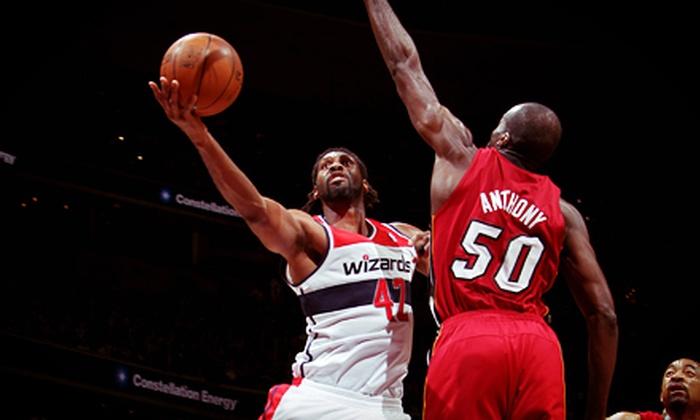 Washington Wizards - Verizon Center: Washington Wizards Game at Verizon Center (Up to 39% Off). 35 Games and Three Seating Options Available.