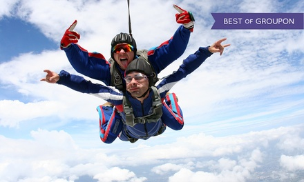 $149 for a Tandem Skydiving Jump from Skydiving Charleston ($299 Value)