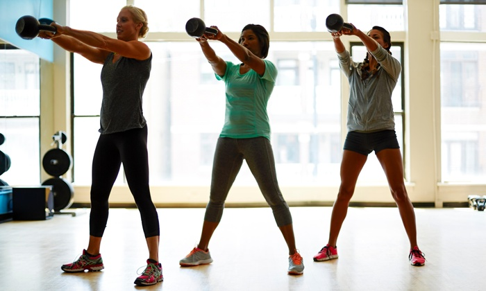Showcase Fitness - Northwest Side: 20 Boot-Camp Classes at Showcase Fitness - Jose Esquivel (65% Off)