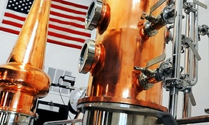 Central Standard Craft Distillery: Spirits Tasting Flight or Distillery Tour at Central Standard Craft Distillery (Up to 49% Off)