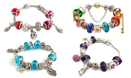 Charm Bracelets with Swarovski Elements