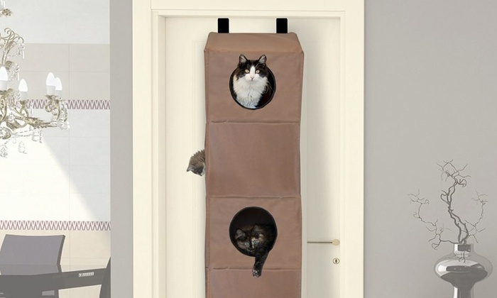 K&H Hangin Cat Condo: K&H Small or Large Hangin Cat Condo from $69.99—$79.99. Free Shipping and Returns.