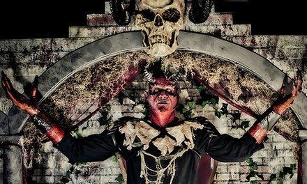 VIP Passes for Two or Four to the Haunted House at The Devil's Attic (Up to 51% Off)