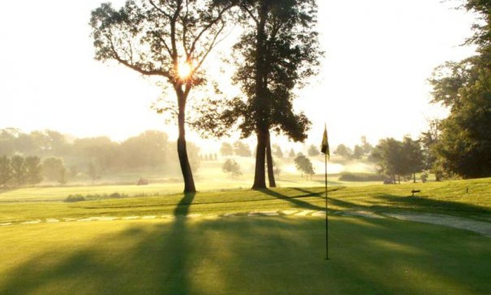 CreeksBend Golf Course - New Prague: $49 for Round for Two with Cart Rental and a Large Bucket of Range Balls at CreeksBend Golf Course (Up to $117.75 Value)