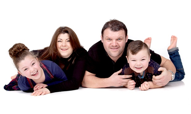 Family Photoshoot With Ten Prints for £10 at Andy Whittaker Photography (91% Off)