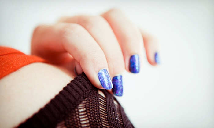 Bobbi at Salon Revolution - Downtown: One or Three Shellac Manicures from Bobbi at Salon Revolution (Up to 57% Off)