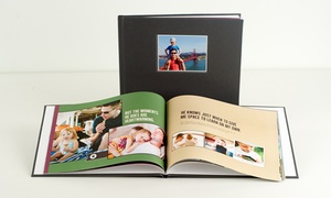 40-Page Leather Photobook