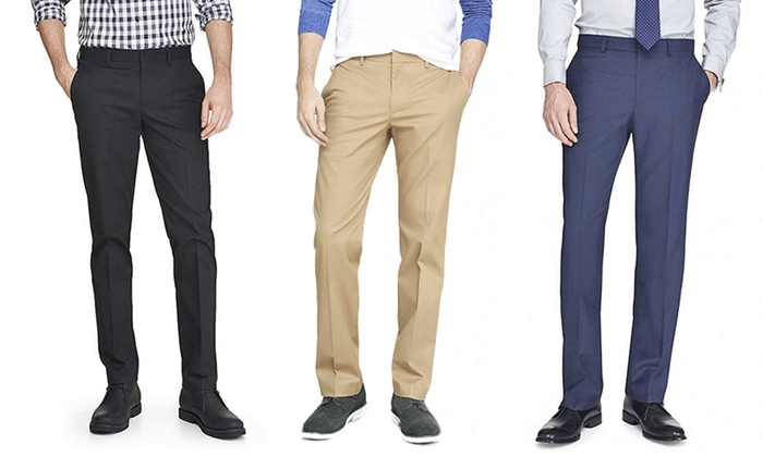 Men's Slim-Fit Dress Pants | Groupon Goods