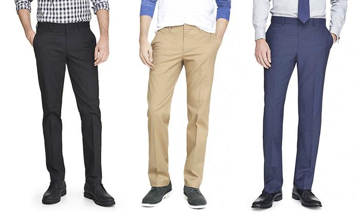 Men's Slim-Fit Dress Pants | Groupon Goods