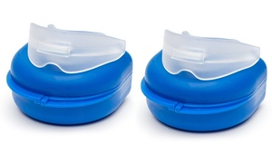 2-Pack of Stop Snoring Mouth Guards at Two-Pack Stop Snoring Mouth Guards, plus 6.0% Cash Back from Ebates.