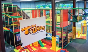 Das Tollhaus: Eintritt für 1 Erwachsenen und 1 oder 2 Kinder, inkl. Slushy und 1 bzw. 2 VIP-Karten im Tollhaus (bis zu 58% sparen*)