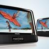 "Philips 9"" Dual-Screen Portable Car DVD Player"