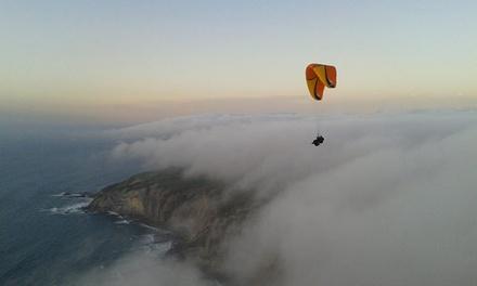 Vuelo en parapente con piloto titulado, foto y vídeo para una o dos personas desde 49,95 €