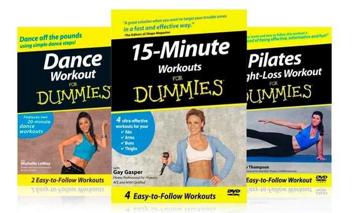 Workout for Dummies DVD Range AED 29 - AED- 199 (83% Off)