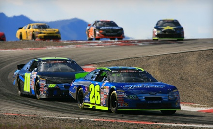 NASCAR and Tooele County Pass for 1 (a $51.50 value) - Miller Motorsports Park in Tooele