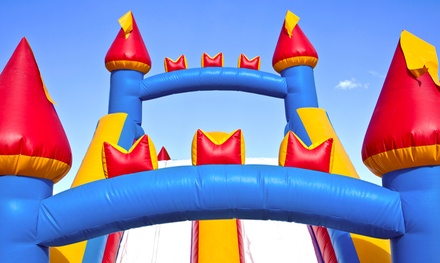 Full- or Half-Day Inflatable Slide Rental from Bounce House California (Up to 74% Off). Four Options Available.