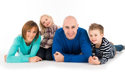 Family Photoshoot With Print for £8.99 at Peter Thomas Photography