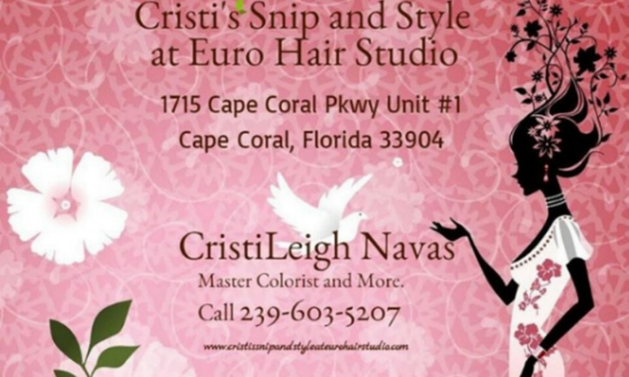 CristiLeigh at Euro Hair Studio - Euro Hair Studio: Up to 58% Off Haircut and Color at CristiLeigh at Euro Hair Studio