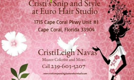Up to 58% Off Haircut and Color at CristiLeigh at Euro Hair Studio